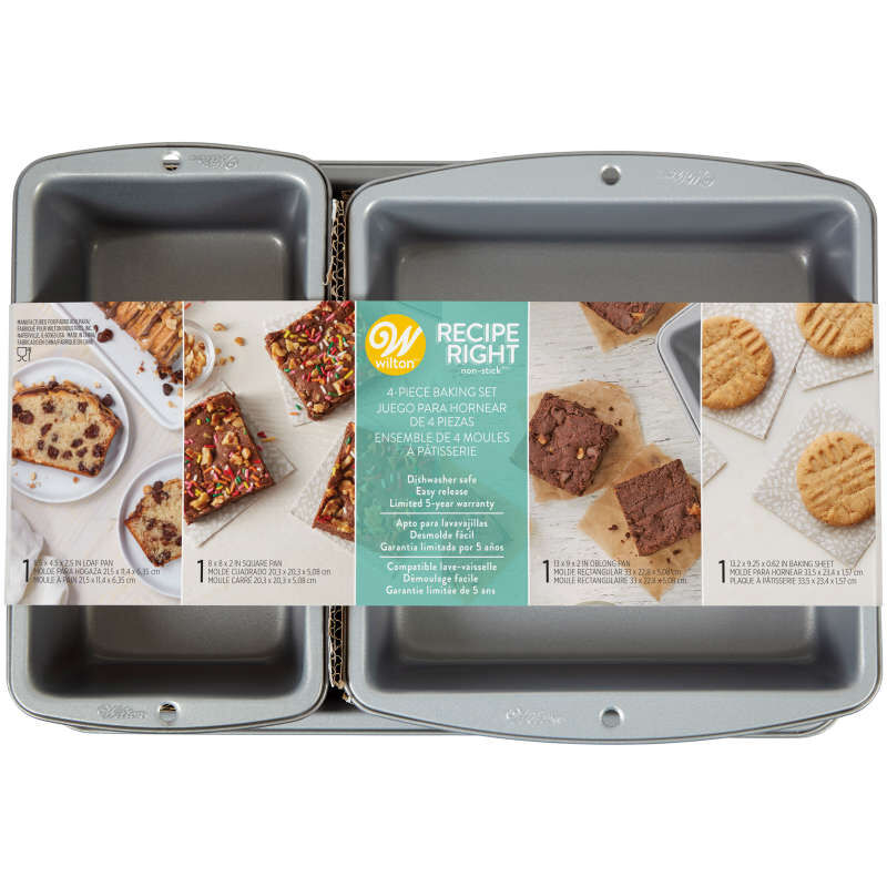 Recipe Right Non-Stick Baking Set, 4-Piece image number 1
