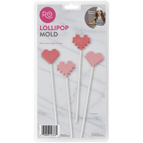 Rosanna Pansino Lollipop Heart Mold