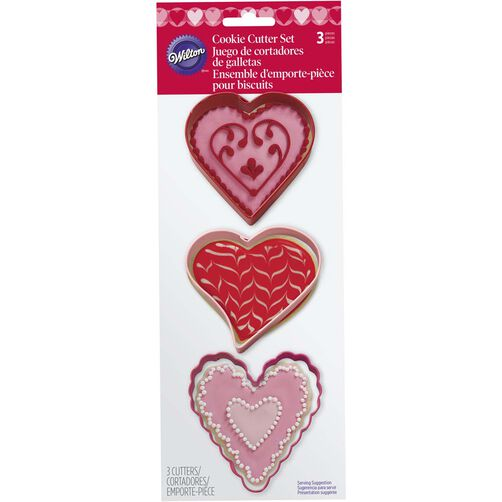 Hearts Cookie Cutter Set