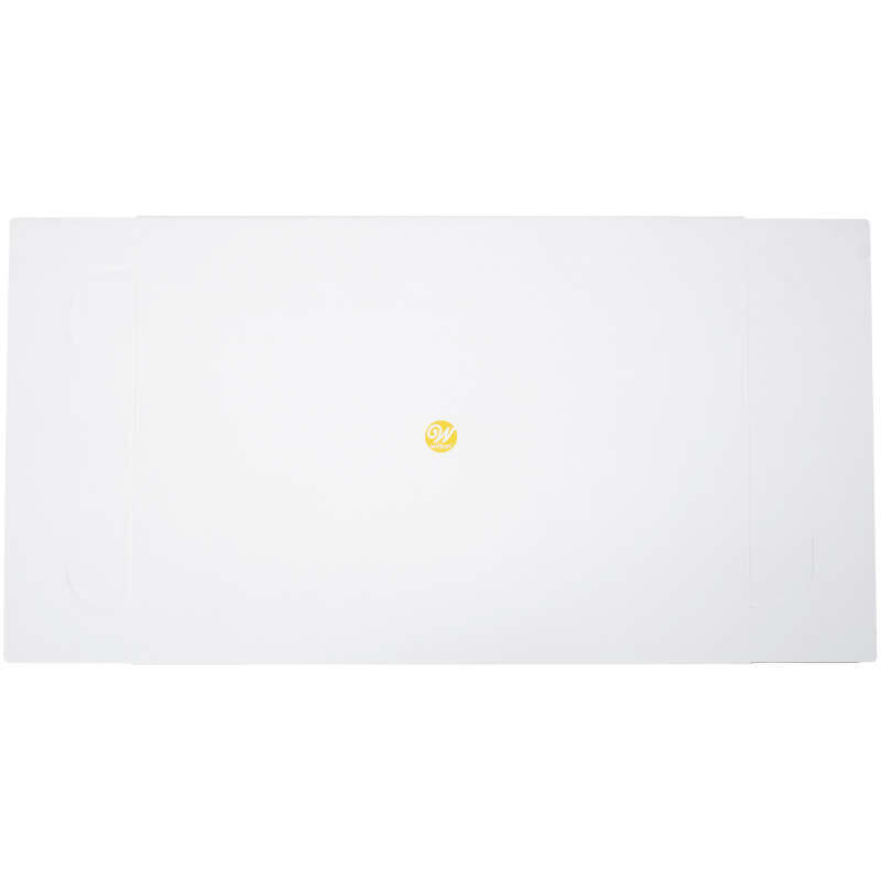 19 x 14 x 4-Inch White Cardboard Sheet Cake Boxes, 2-Count image number 1