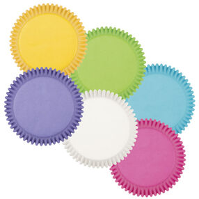 Bright Multicolored Cupcake Liners