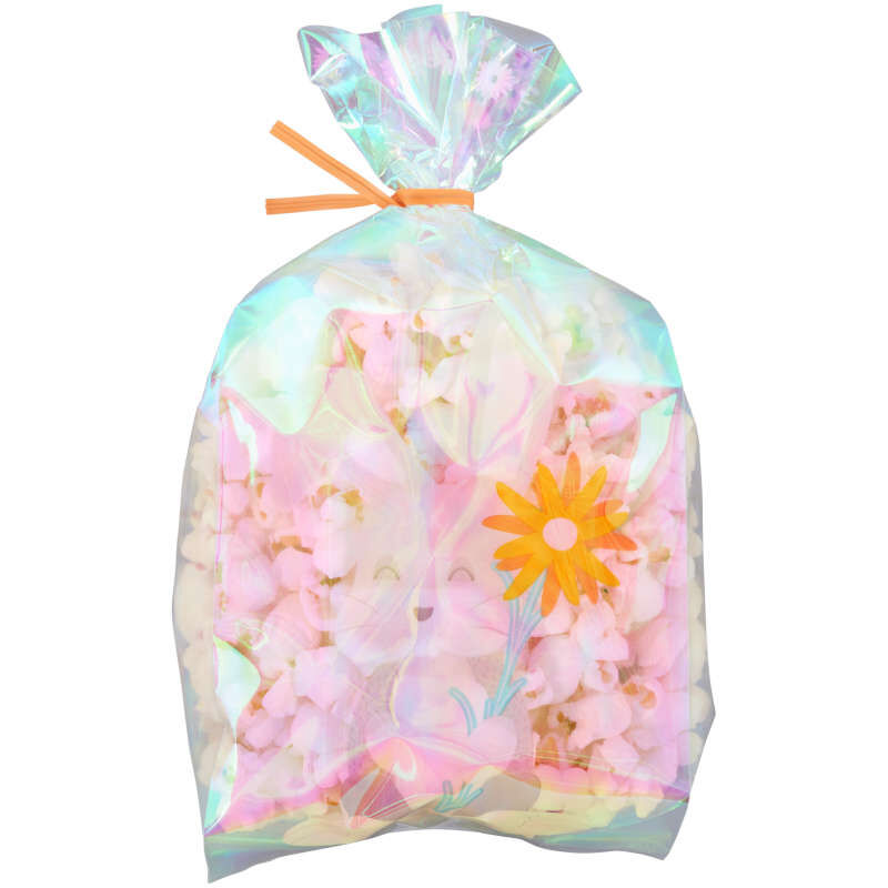 Iridescent Easter Bunny Treat Bags, 10-Count image number 2