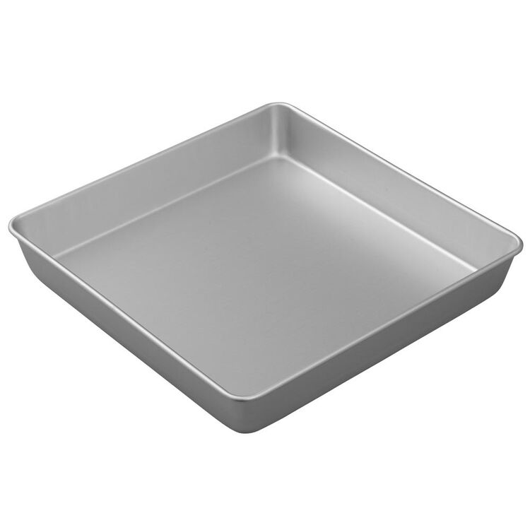 Performance Pans Aluminum Square Cake and Brownie Pan, 12-Inch
