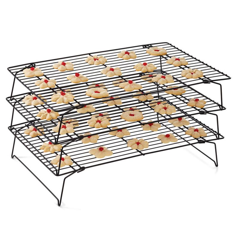 Recipe Right Non-Stick Cooling Rack, 3-Tier image number 2
