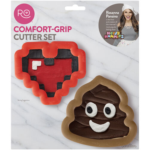 Ro Comfort Grip Cookie Cutter Set