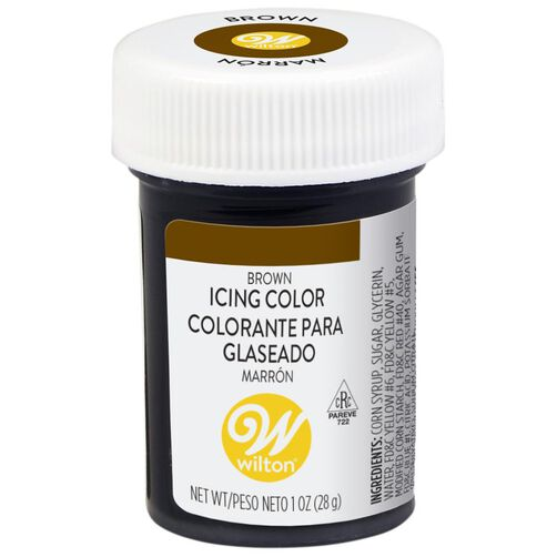 Brown Gel Food Coloring Icing Color