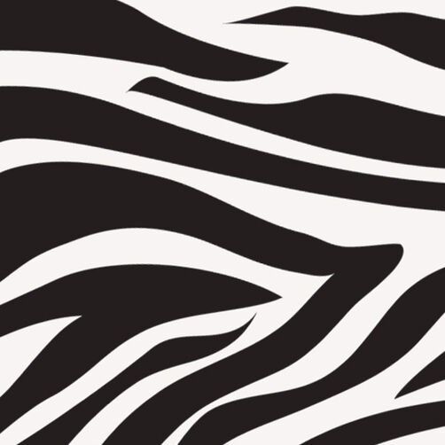 Zebra Sugar Sheets Edible Decorating Paper Wilton