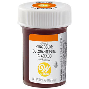 Orange Gel Food Coloring Icing Color