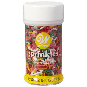 Rainbow Jimmies Sprinkles, 2.5 oz.