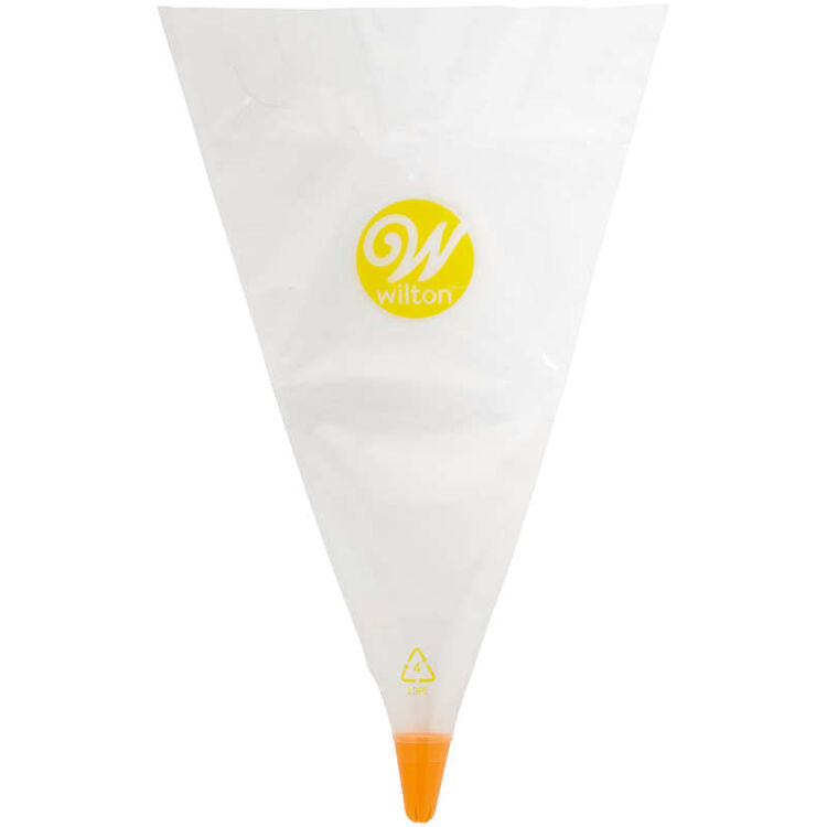 All-in-One Decorating Bag with #2D Drop Flower Tip