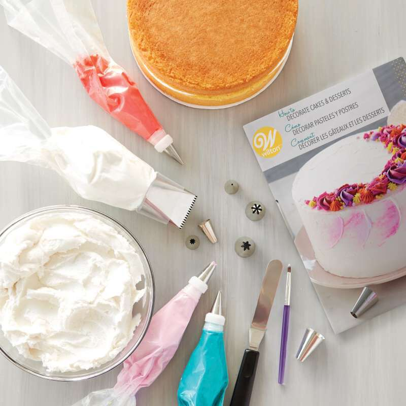 How to Decorate Cakes and Desserts Kit, 39-Piece image number 3