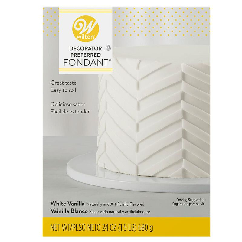 Decorator Preferred White Fondant, 24 oz. Fondant Icing image number 0
