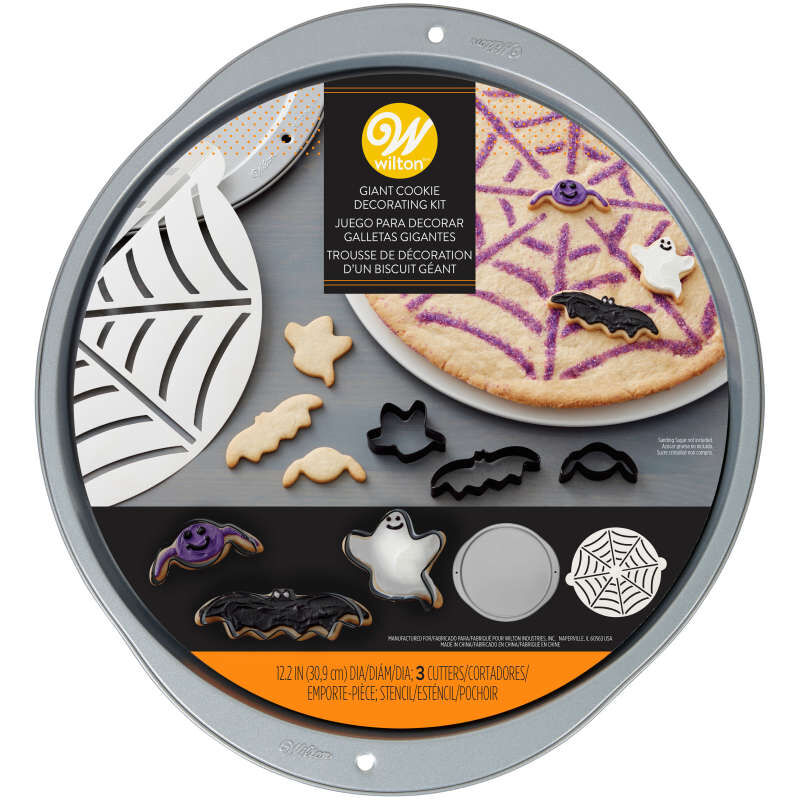 Spider Web Cookie Decorating Kit, 5-Piece image number 1