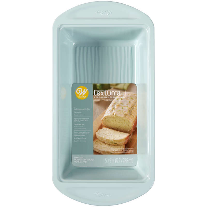 Texturra Performance Non-Stick Bakeware Loaf Pan, 9 x 5-Inch image number 1