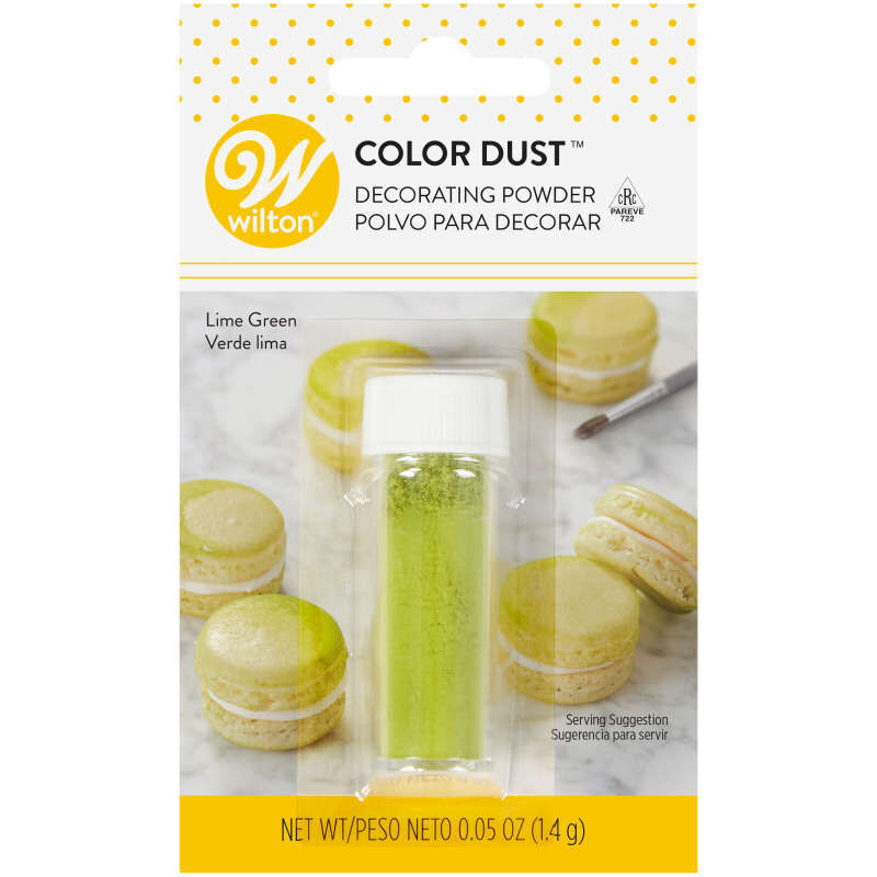 Lime Green Color Dust, 0.05 oz. image number 0