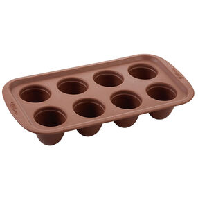 Brownie Pops Silicone Brownie and Cake Pop Pan, 8-Cavity