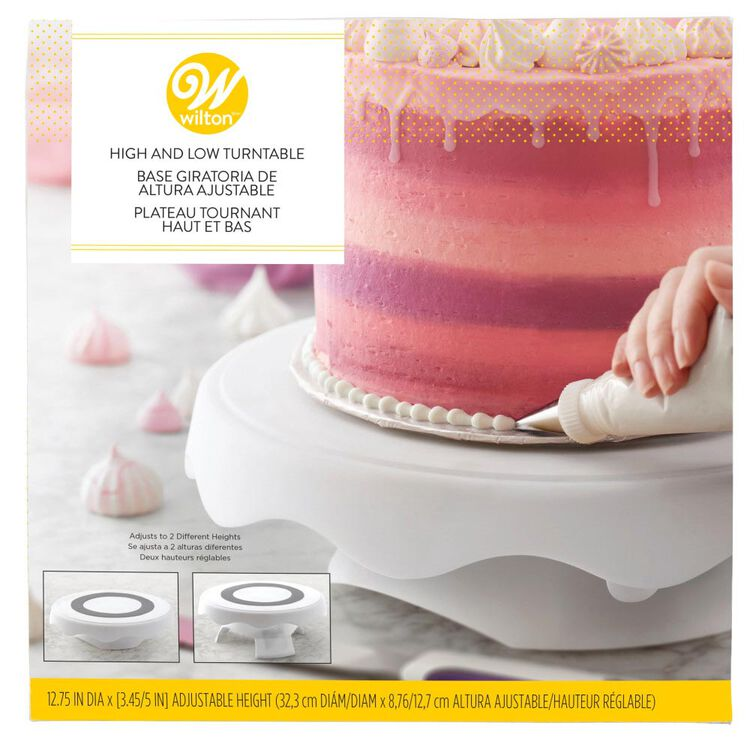 High and Low Cake Turntable