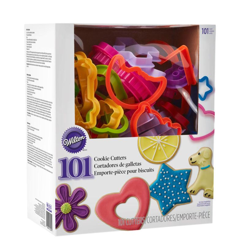 Plastic Cookie Cutter Set, 101-Piece image number 3