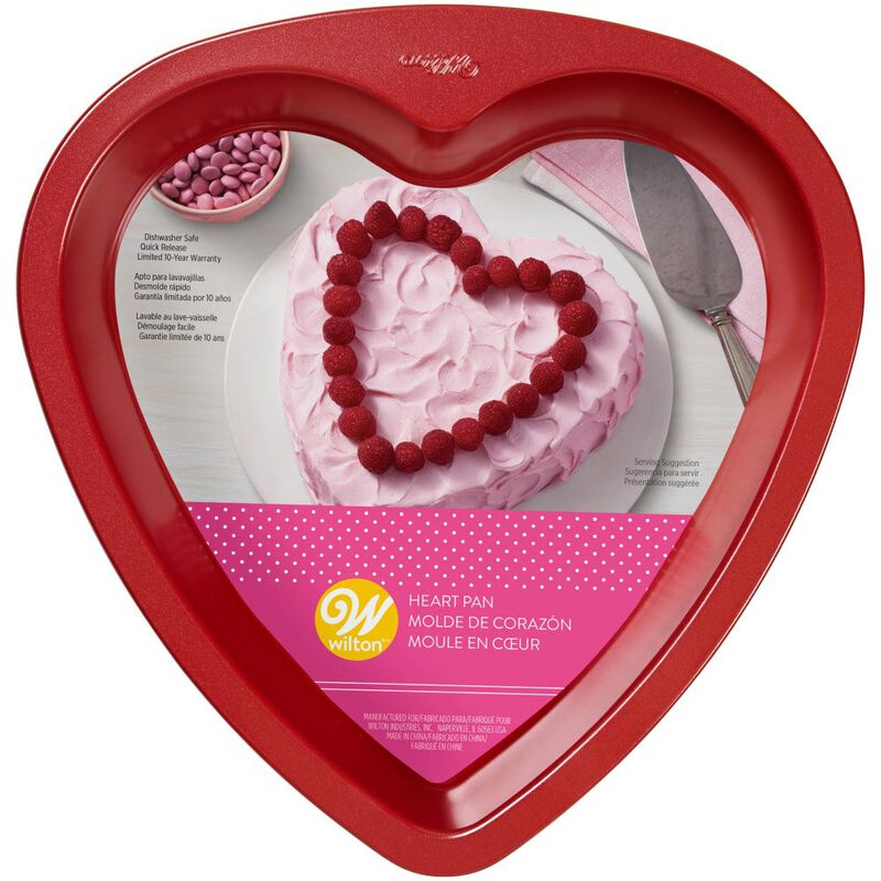 Red Heart Cake Pan, 9-Inch image number 1