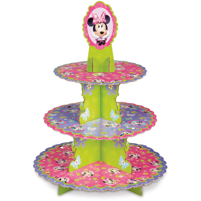 Minnie Mouse Cupcake Stand Out of Packaging image number 7