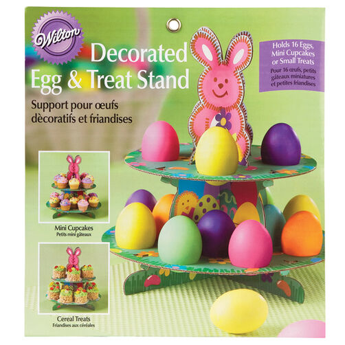 Decorated Egg & Treat Stand