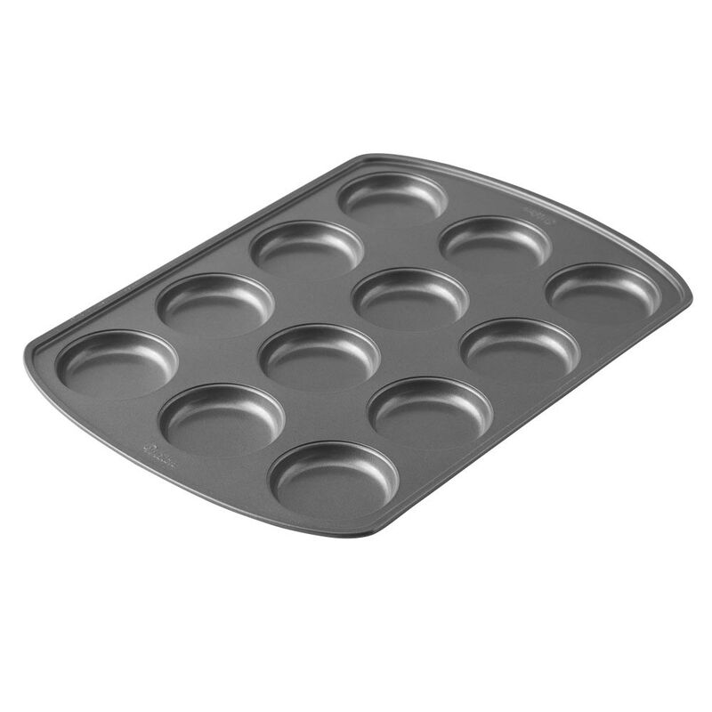 Perfect Results Premium Non-Stick Bakeware Muffin Top Pan, 12-Cup image number 1