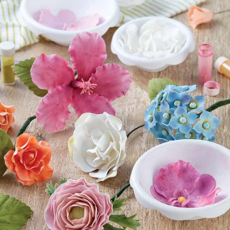 Flower Shaping Bowls, 6-Piece image number 5