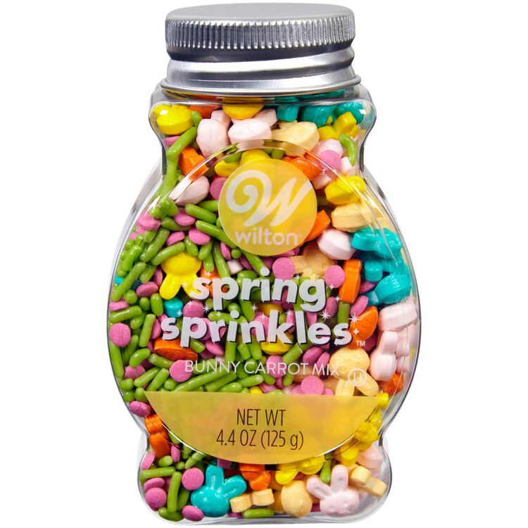 Bunnies and Carrots Easter Sprinkles Mix, 4.4 oz.