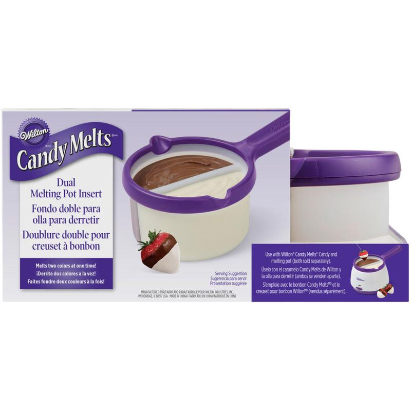 Candy Melts Dual Melting Pot Insert image number 0