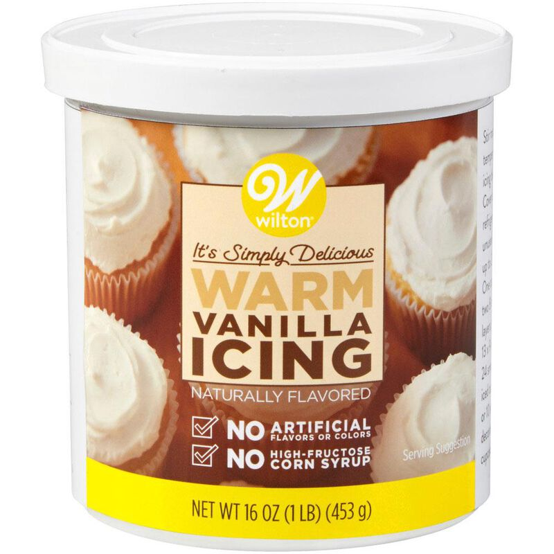 Naturally Flavored Warm Vanilla Icing, 16 oz. image number 0