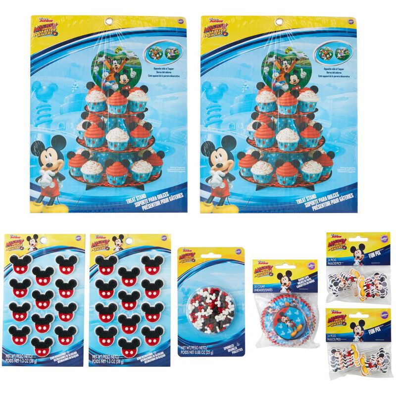 Mickey and The Roadster Racers Birthday Cupcakes Party Pack, 8-Piece image number 3