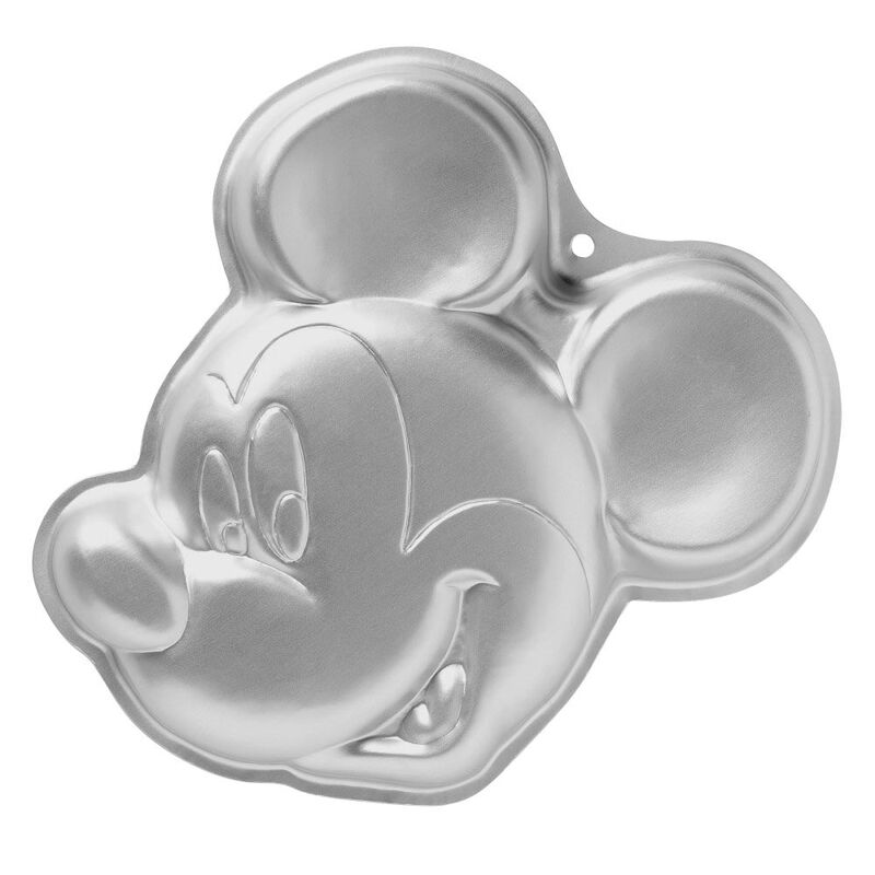 Aluminum Mickey Mouse Cake Pan image number 0