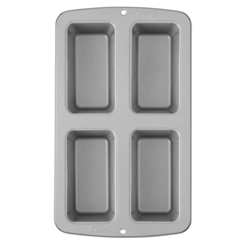 Recipe Right Non-Stick Mini Loaf Pan, 4-Cavity image number 0
