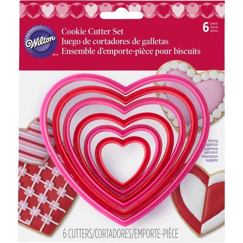 Nesting Hearts Cookie Cutter Set