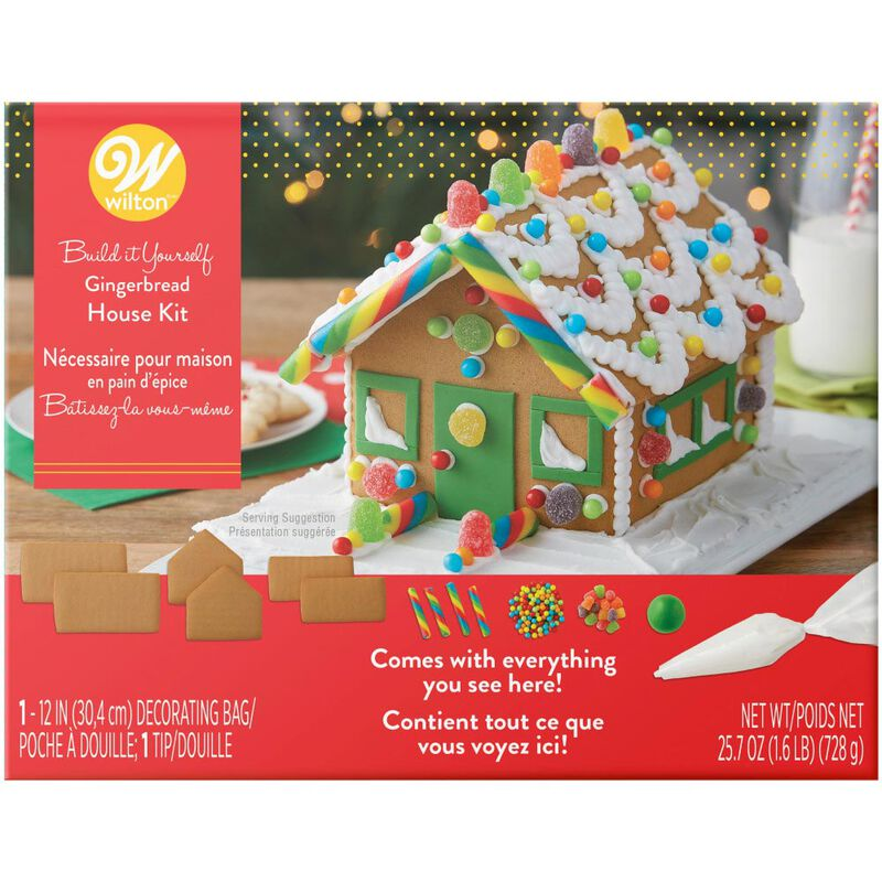 Build it Yourself Sweet & Petite Gingerbread House Decorating Kit image number 0