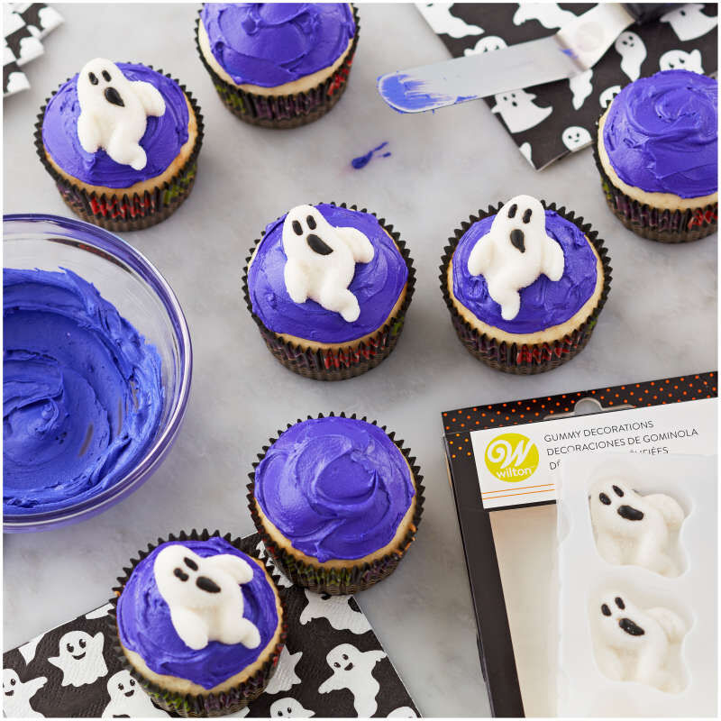 Ghost Gummy Decorations, 8-Count image number 3