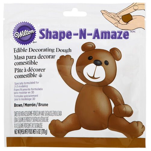 Brown Edible Decorating Dough