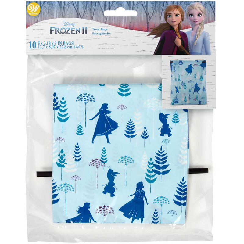 Disney Frozen 2 Treat Bags, 10-Count image number 1