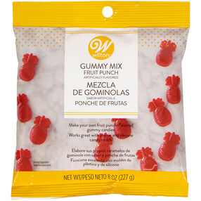 Fruit Punch Gummy Mix, 8 oz.
