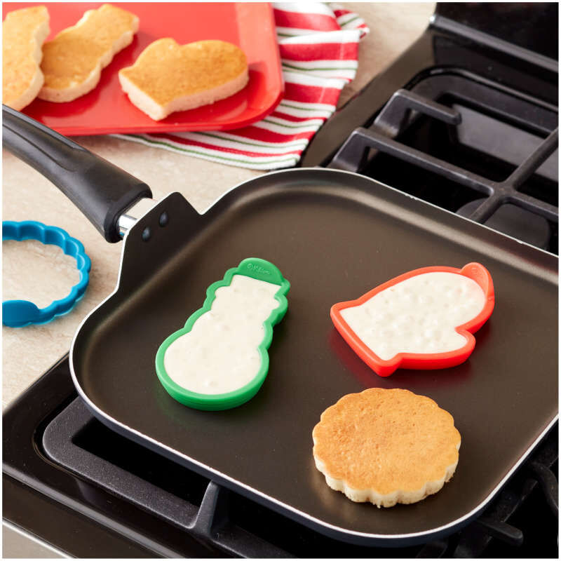 Silicone Pancake Molds, 3-Piece image number 3