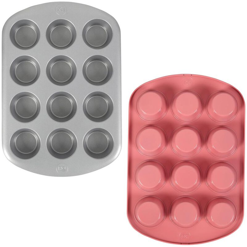 Rosanna Pansino by Non-Stick Muffin Pan, 12-Cup image number 0