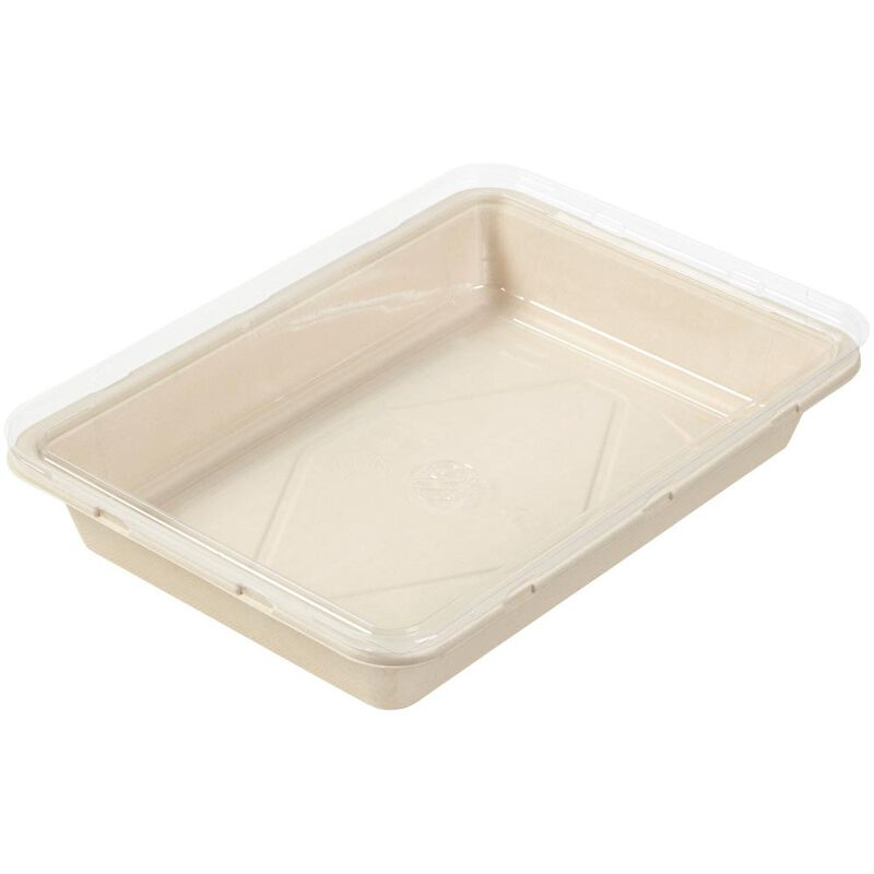 Disposable Oblong Baking Pan with Lid, 9 x 13-Inch image number 3