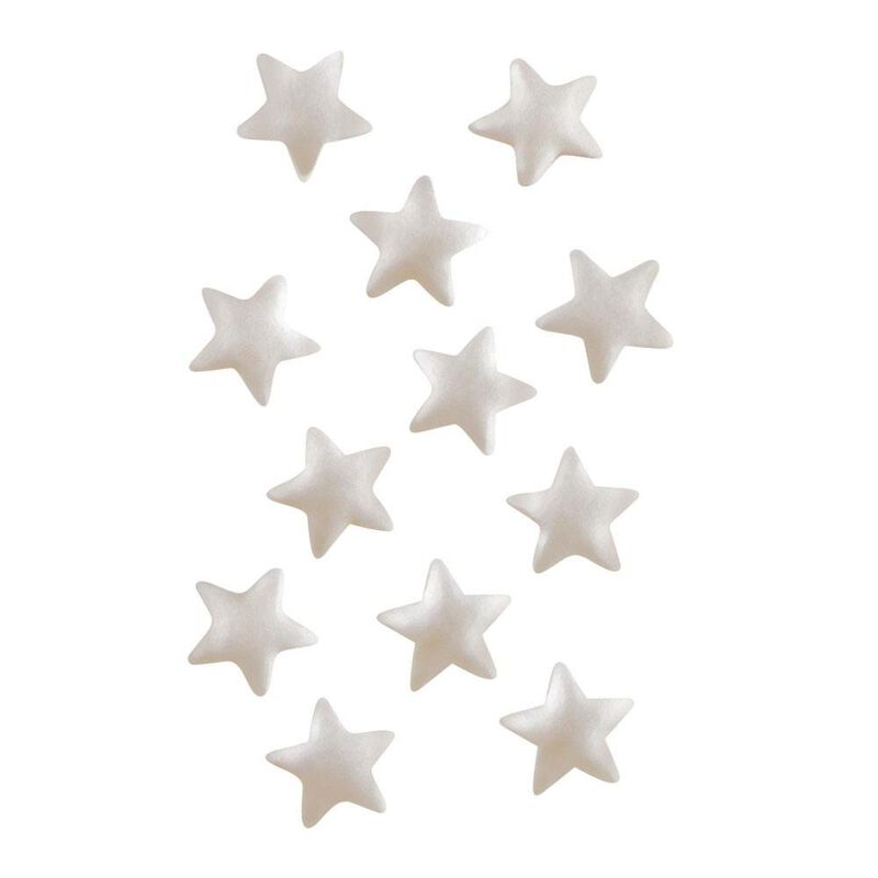 Edible Glitter Silver Stars, 0.04 oz. image number 4