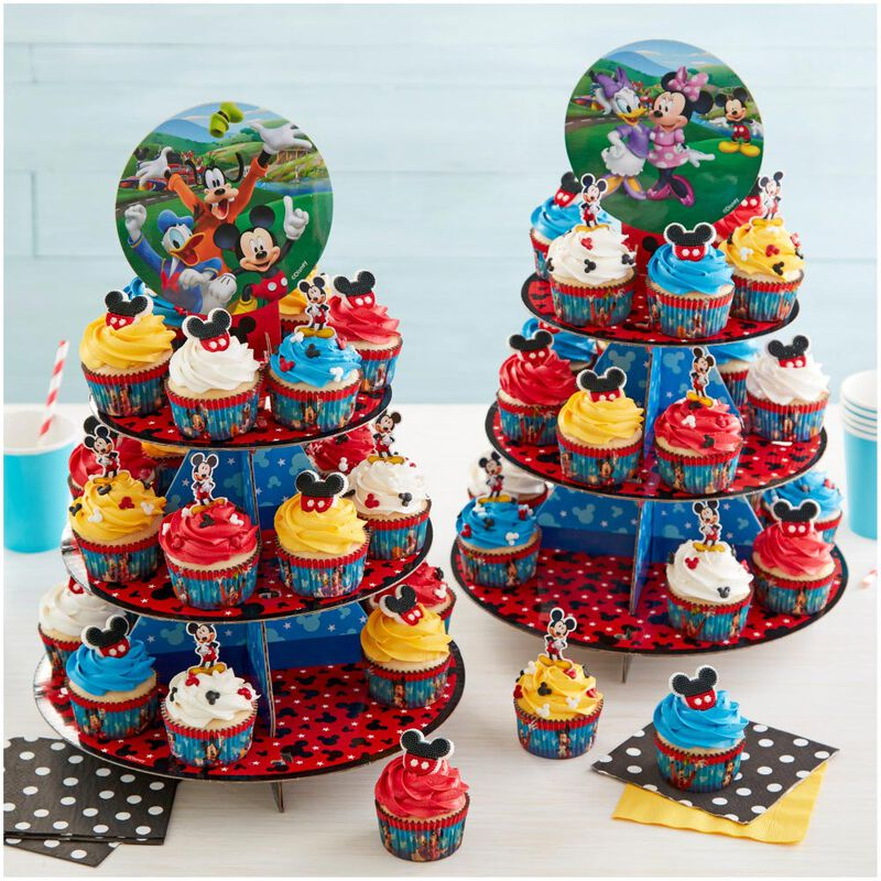 Mickey and The Roadster Racers Birthday Cupcakes Party Pack, 8-Piece image number 4