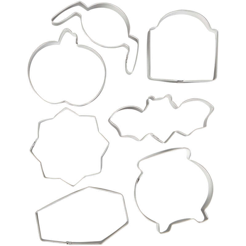 Halloween Cookie Cutter Set, 7-Piece image number 0