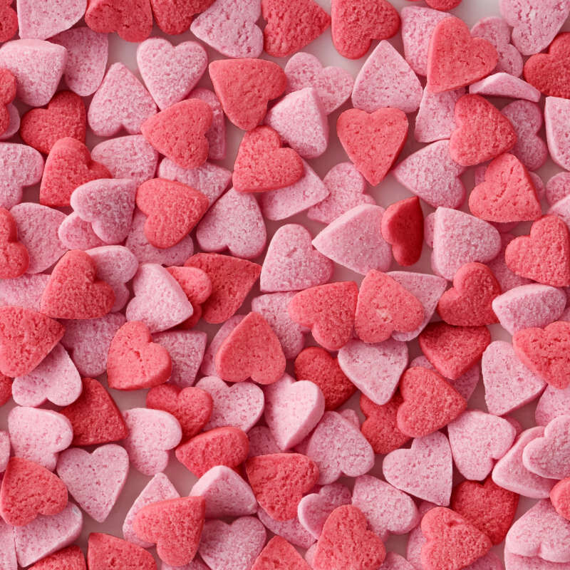 Naturally Flavored Heart Confetti Sprinkles, 1.58 oz. image number 2