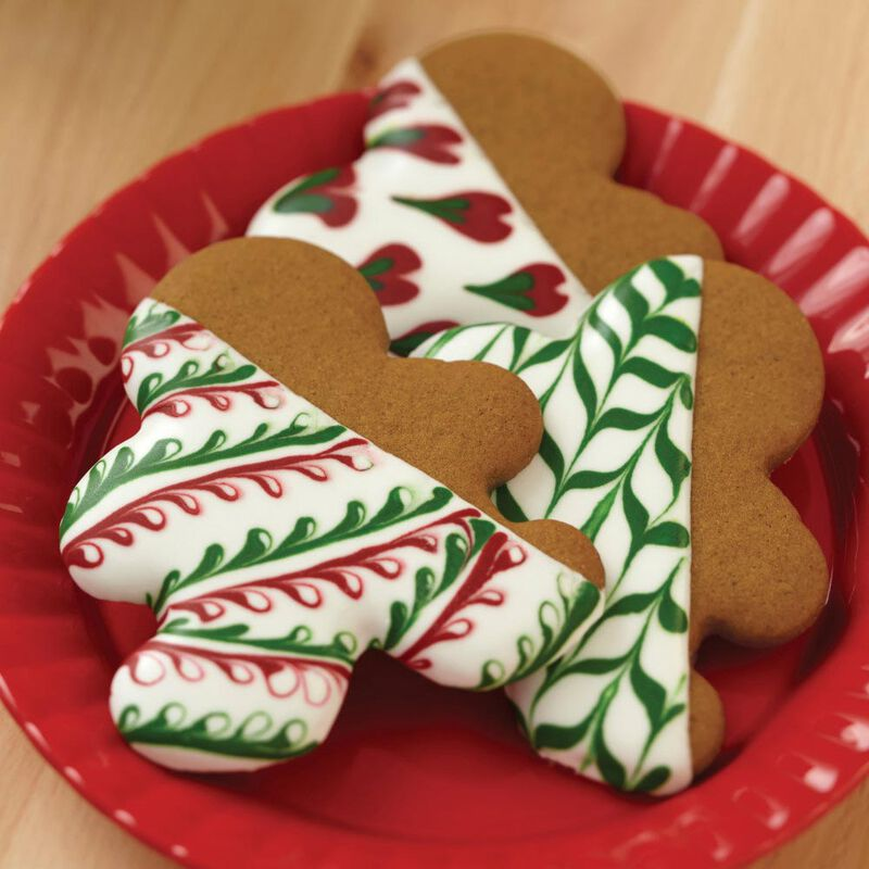 Red & Green Holiday Cookie Icing, Multipack of 6 image number 4
