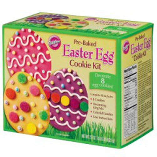 Pre Baked Easter Egg Cookie Kit Wilton