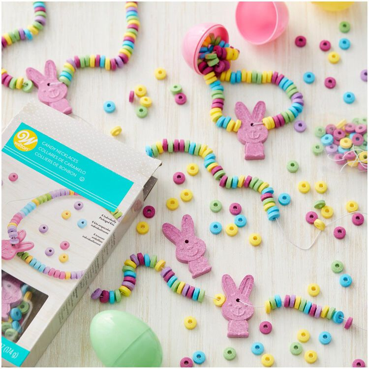 Easter Bunny Candy Necklace Kit