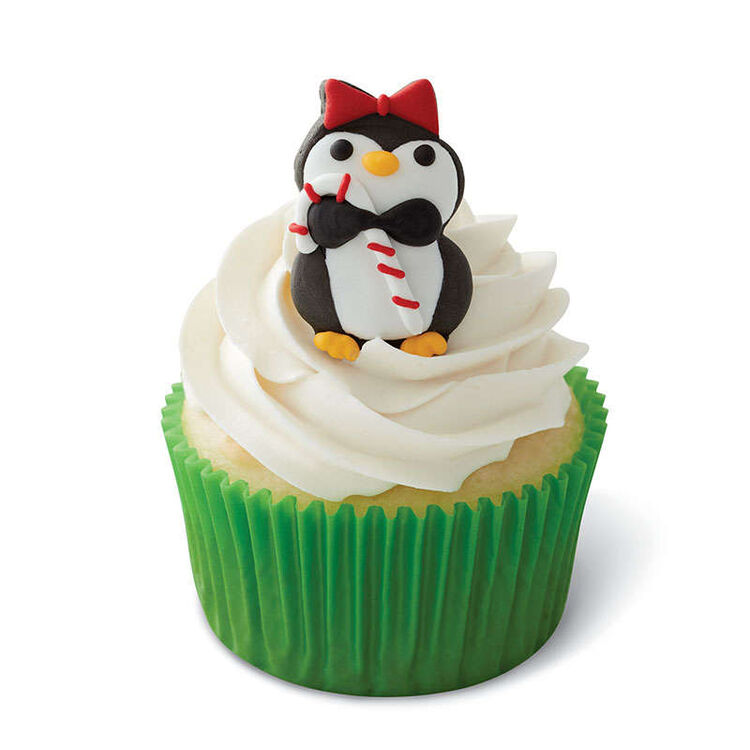 Christmas Penguins Royal Icing Decorations, 12-Count